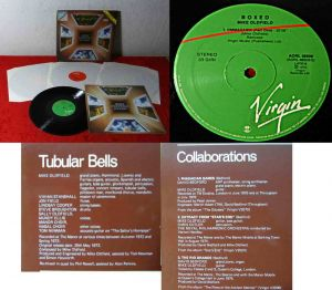 4LP Box Mike Oldfield: Boxed (Virgin Orizzone AORL 48509) Italien