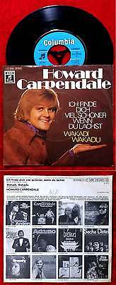Single Howard Carpendale: Ich finde Dich viel schöner wenn Du lachst (Columbia)