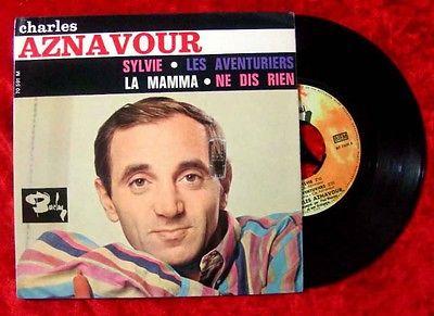 EP Charles Aznavour: Sylvie + 3