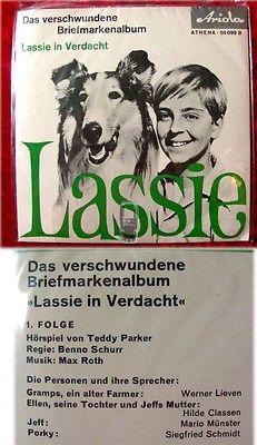 Single Lassie - Das verschwundene Briefmarkenalbum OVP!