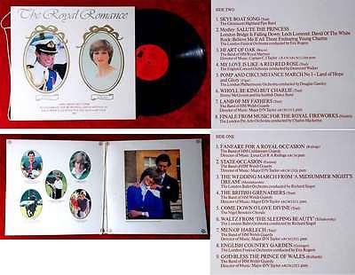 LP Charles & Diana: The Royal Romance A Recorded Souvenir 1981