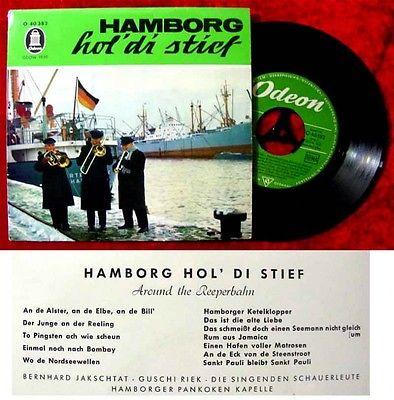 EP Hamborg hol di stief Around the Reeperbahn Bernhard