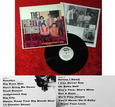 LP Pretty Things: Let Me Hear The Choir Sing (Edsel ED 139) w/ Booklet UK