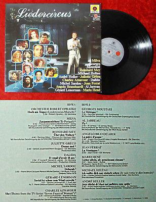 LP Liedercircus (Hör Zu 203 060-365) D TV Serie Michael Heltau