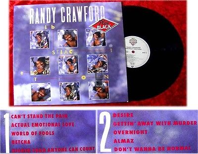 LP Randy Crawford Abstract Emotions