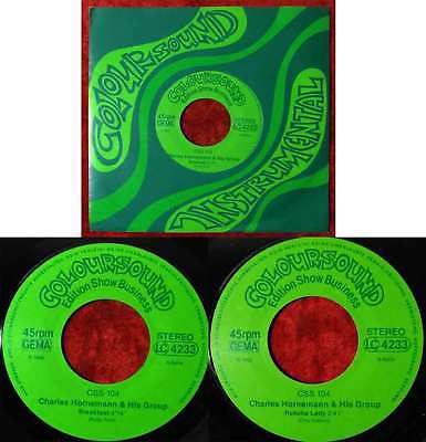 Single Charles Homemann & His Group: Breakfast (Coloursound 104) D 1985