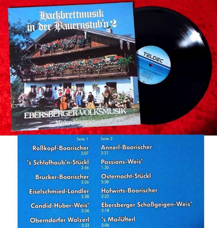 LP Ebersberger Volksmusik Markus Krammer: Hackbrettmusik in der Bauernstub´n 2