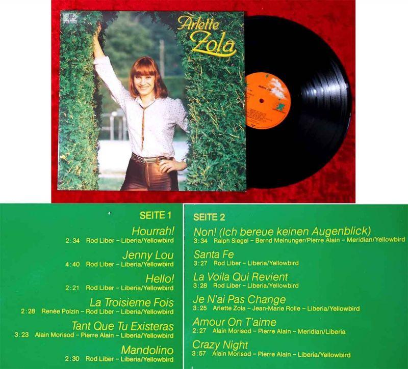 LP Arlette Zola (Jupiter 625280 AP) D 1982