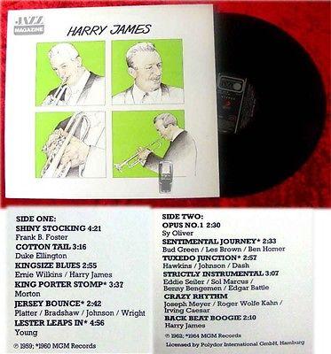 LP Harry James: Jazz Magazine