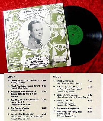 LP Jimmy Dorsey: The Nostalgia Years