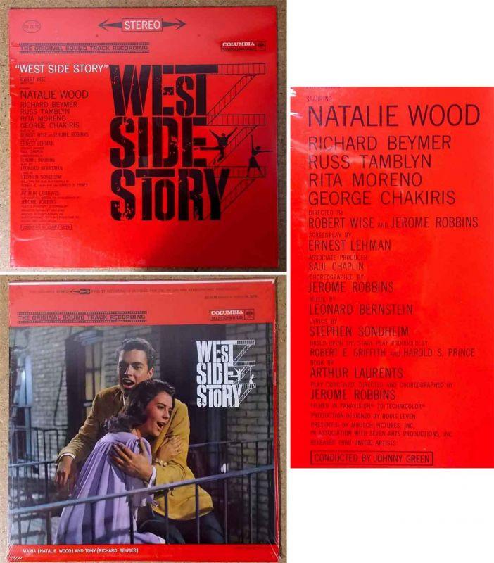 LP West Side Story (Columbia OS 2070) Natalie Wood Rita Moreno George Chakiris