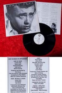 LP James Dean Soundtracks (Warner Bros. WB 56 122) D 1975 mit Textblatt