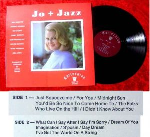 LP Jo Stafford Jo + Jazz