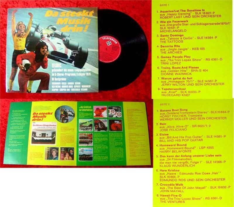 LP Da steckt Musik drin Teldec LP Programm Frühjahr 197