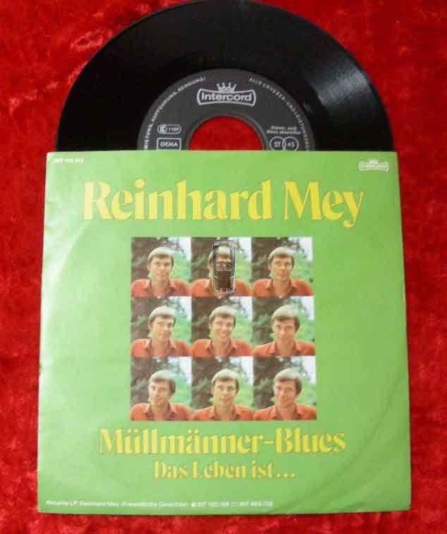 Single Reinhard Mey: Müllmänner Blues