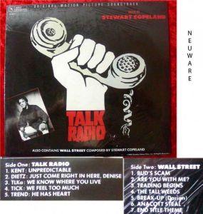 LP Talk Radio Stewart Copeland 1988 Neuware
