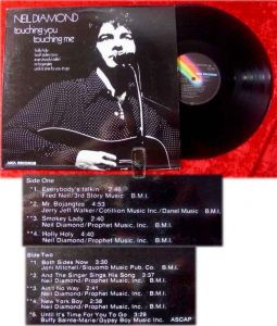 LP Neil Diamond: Touching You, Touching Me
