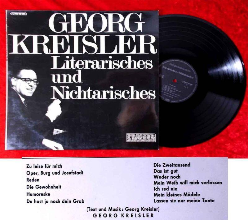LP Georg Kreisler: Literarisches und Nichtarisches (Preiser 1C 062-92 500) D 70