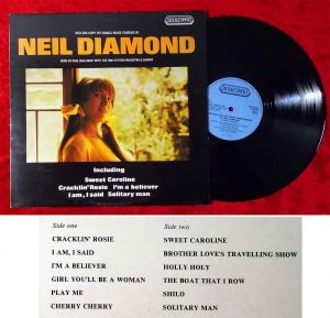 LP Dave Challinor: Million Copy Hit Songs made famous by Neil Diamond (UK 1974)