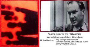 Original Programmheft Jazz at the Philharmonic Norman Granz Stan Getz Dizzy