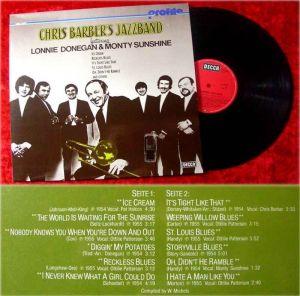 LP Chris Barber Profile feat. Lonnie Donegan Monty Suns