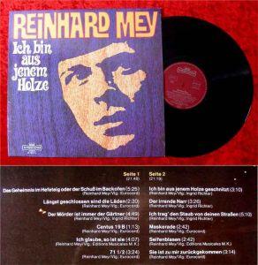 LP Reinhard Mey: Ich bin aus jenem Holze geschnitzt