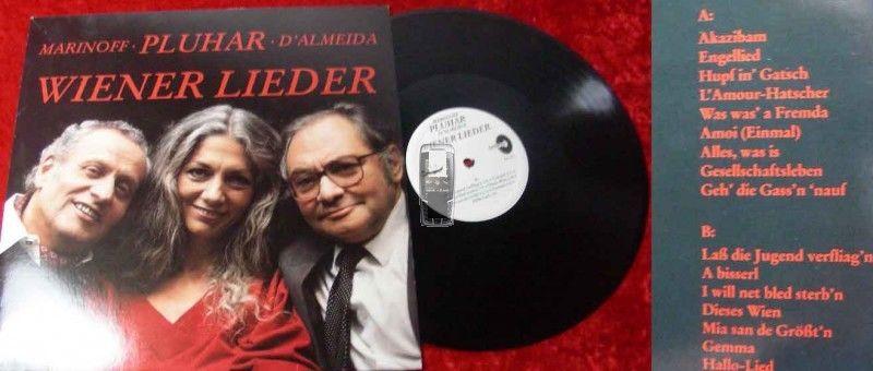 LP Erika Pluhar: Wiener Lieder w/Marinoff D'Almeida