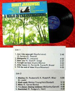 LP Horst Jankowski: A Walk in the Evergreens (Mercury 134 245 MCY) NL