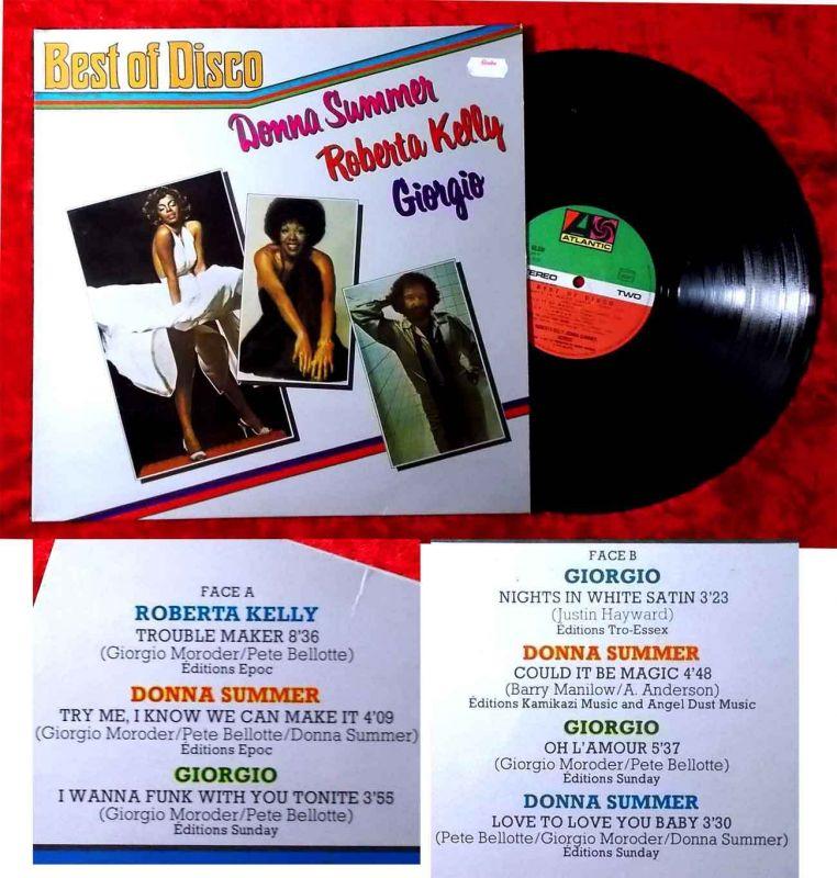 LP Donna Summer / Roberta Kelly / Giorgio: Best of Disco Vol. 1 /Atlantic 50 336