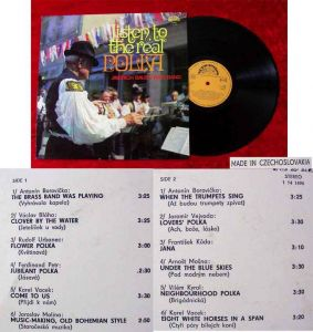 LP Jindrich Bauer Wind Band: Listen to the real Polka