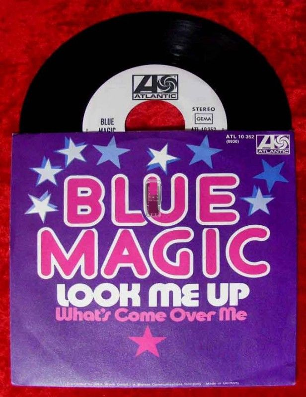 Single Blue Magic: Look me up