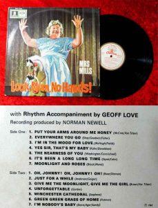 LP Mrs. Mills: Look Mum, No Hands! (Odeon SMO 74 262) D 1967