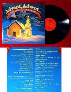 LP Advent, Advent...ein Lichtlein brennt (Polydor 63 529 2) Club Edition 1989