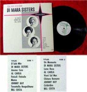 LP Di Mara Sisters and Al Caiola Johnny Kay Bill Costa