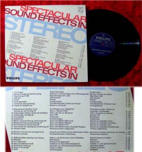 LP Spectacular Sound Effects in Stereo