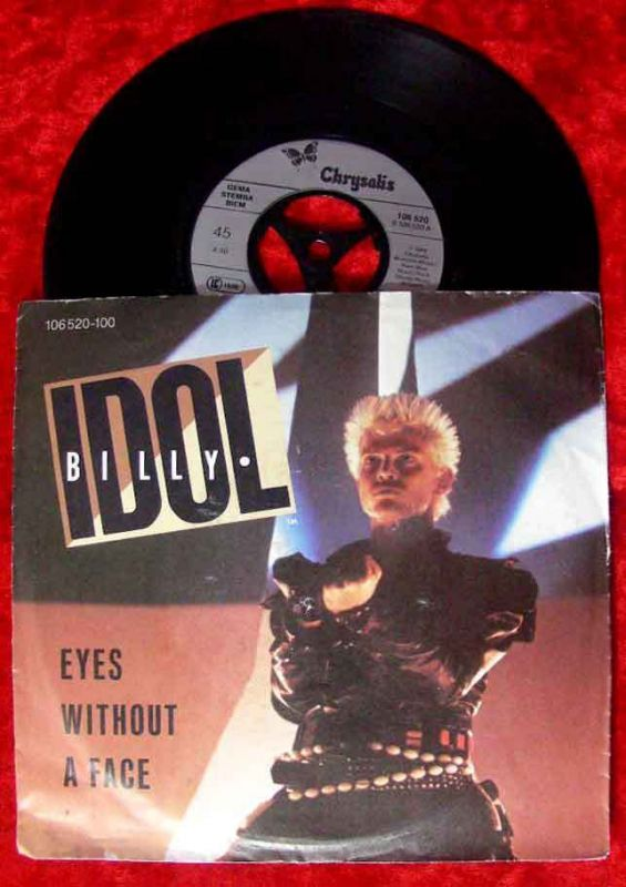 Single Billy Idol: Eyes without a face