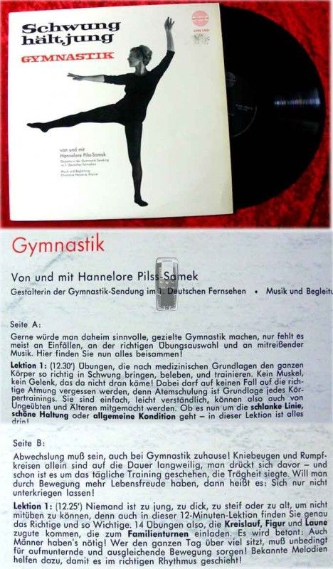 LP Hannelore Pilss-Samek : Gymnastik hält jung