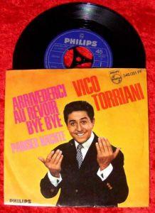Single Vico Torriani Arrivederci Au Revoir Bye Bye
