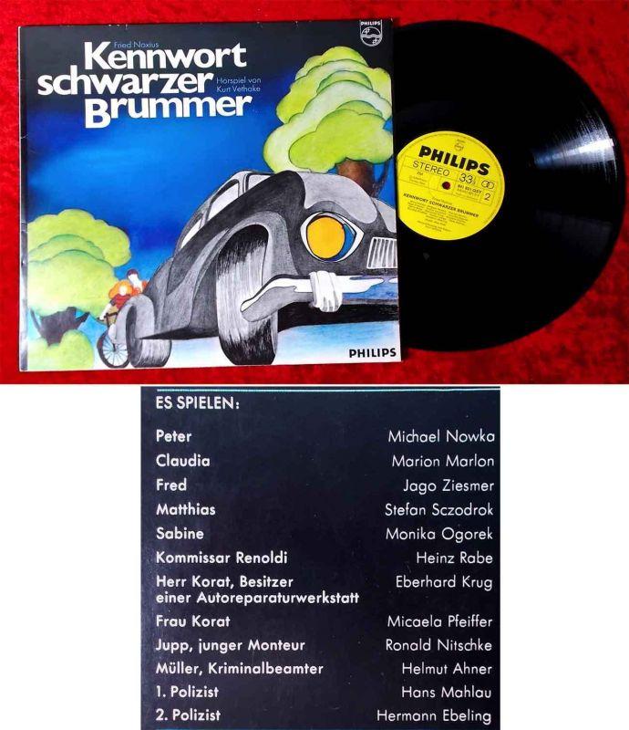 LP Kennwort Schwarzer Brummer (Philips 841 821 OSY) D