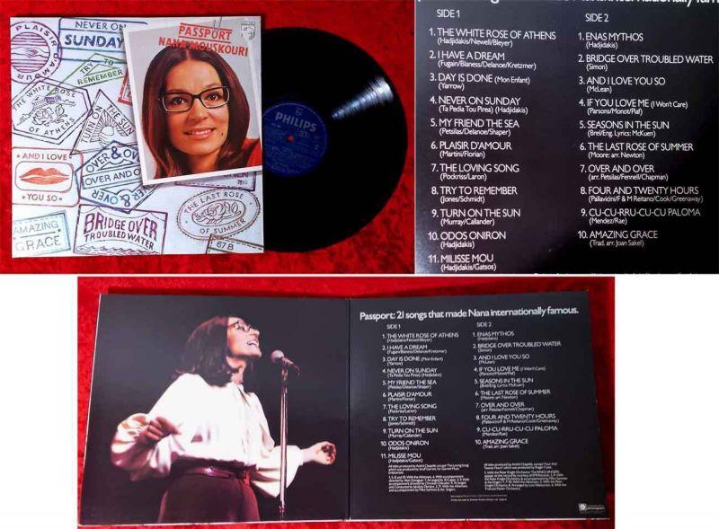 LP Nana Mouskouri: Passport (Philips 9101 061) UK 1979