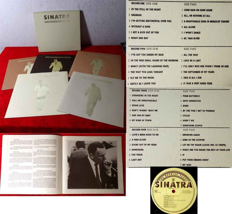 4LP Box Frank Sinatra: The Reprise Years (Reprise 74 003) 1975