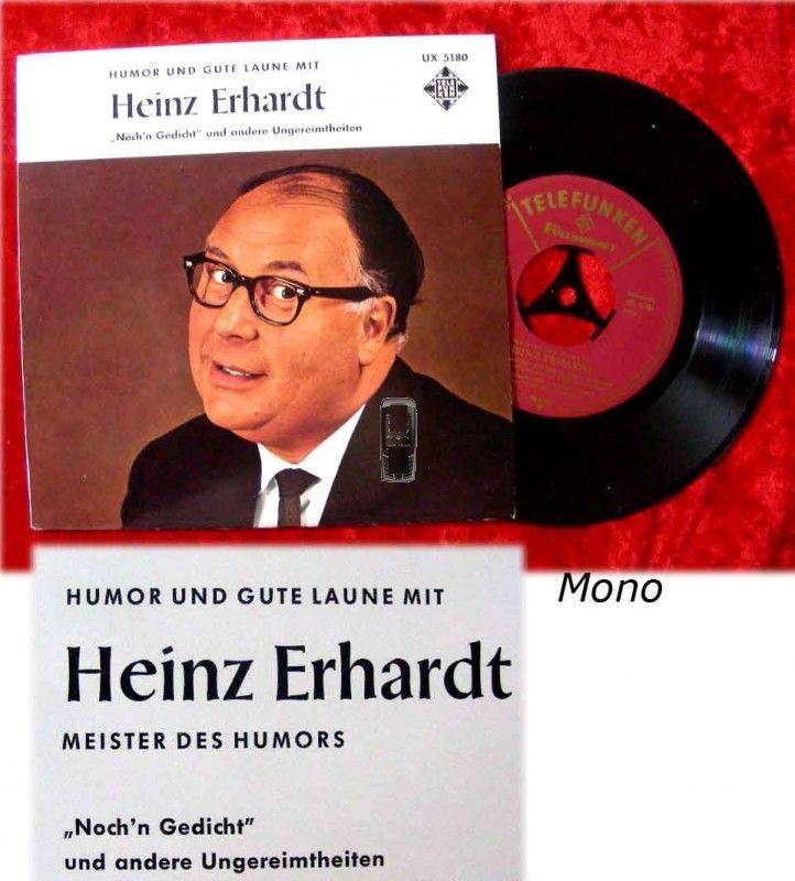EP Heinz Erhardt - Meister des Humors Noch'n Gedicht
