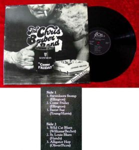 LP  Chris Barber: Come Friday (Direct-to-Disc)