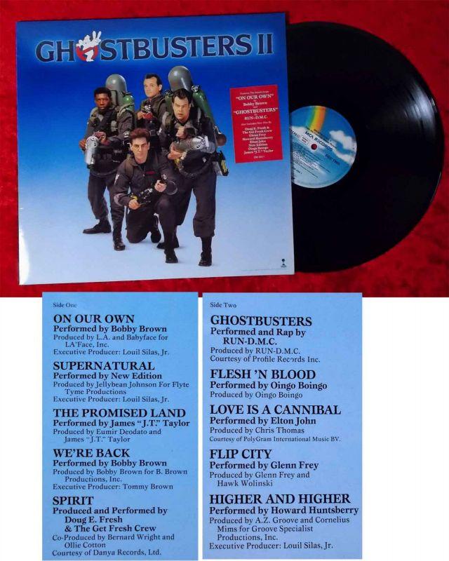 LP Ghostbusters II (MCA 256 434-1) D 1989