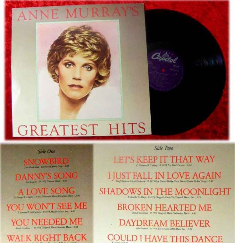 LP Anne Murray Greatest Hits