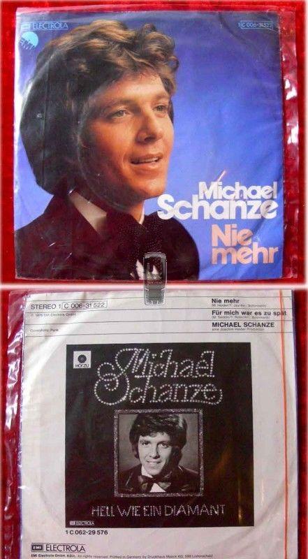 Single Michael Schanze: Nie mehr (Neuware)