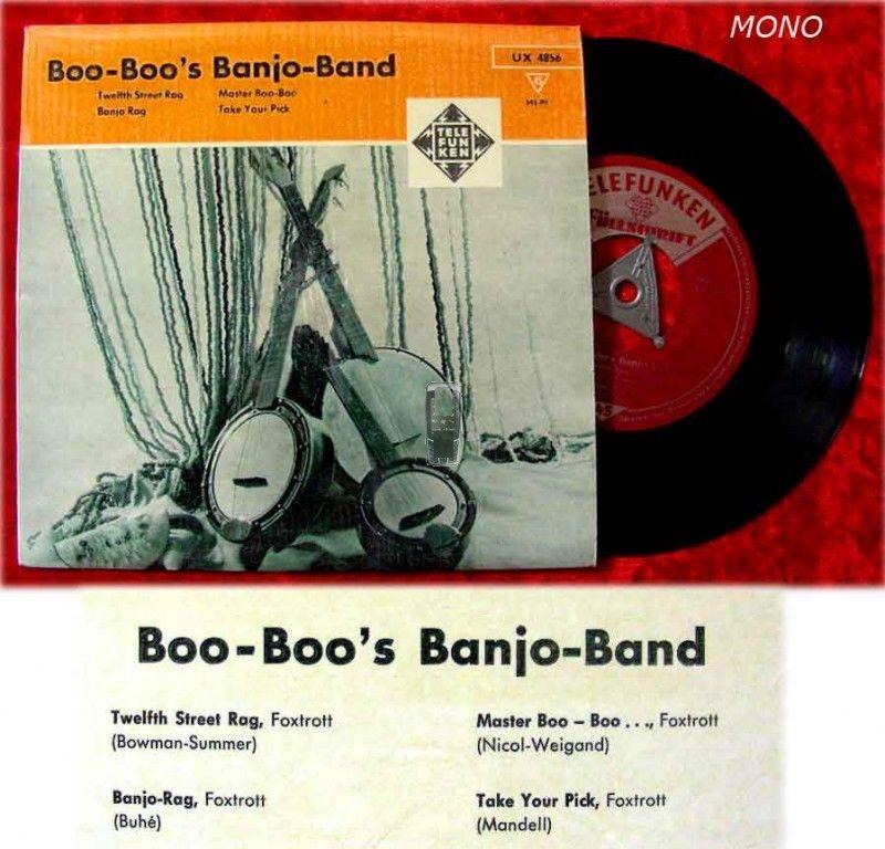 EP Boo-Boo's Banjo Band (Telefunken Fllschrift)