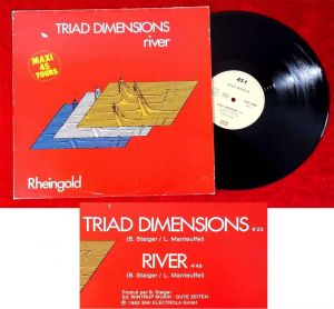 Maxi Rheingold: Triad Dimensions / River (EMI Pathé 2C-052-52909Z) D 1982