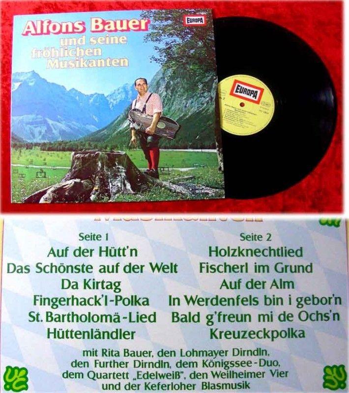 LP Alfons Bauer und seine fröhlichen Musikanten