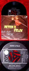 Single Peter & Felix: Bye Bye Birdie / Was ich sage (Metronome M 25 366) D 71